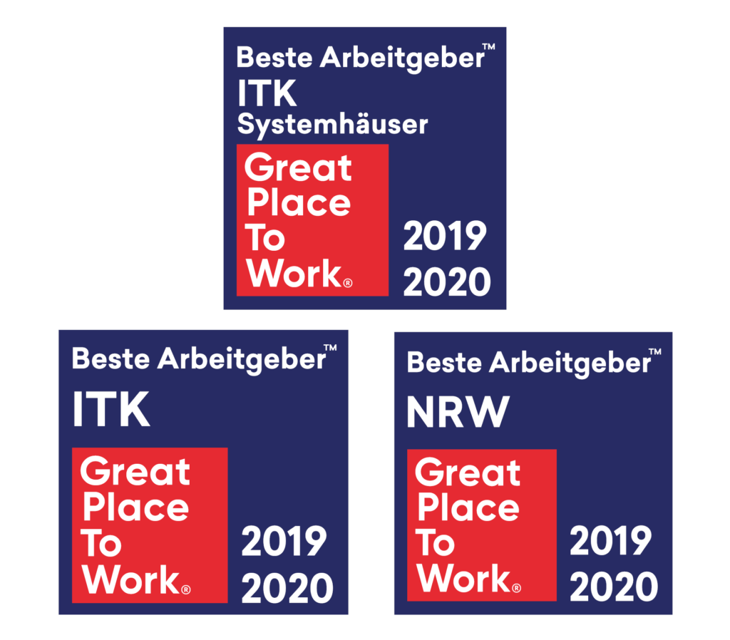 Great Place to Work Beste Arbeitgeber ITK NRW Systemhaus unique projects IT EDV Service Anbieter