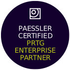 paessler enterprise partner badge