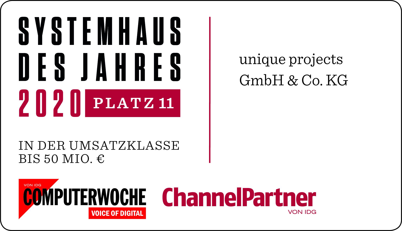 channelpartner computerwoche systemhaus des jahres 2020