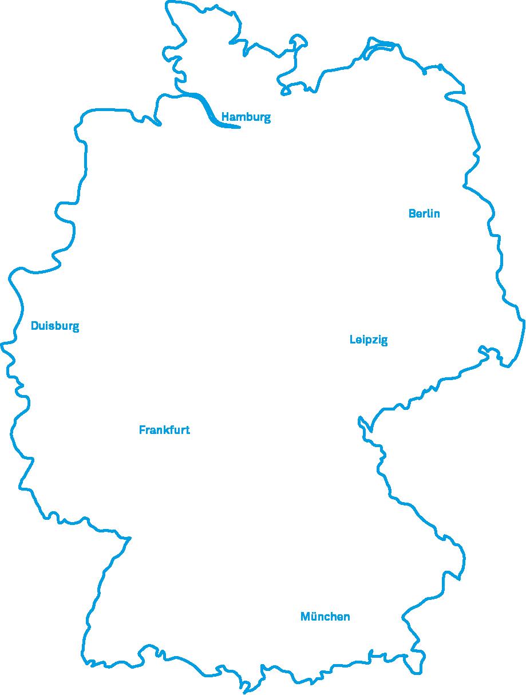 unique projects Standorte