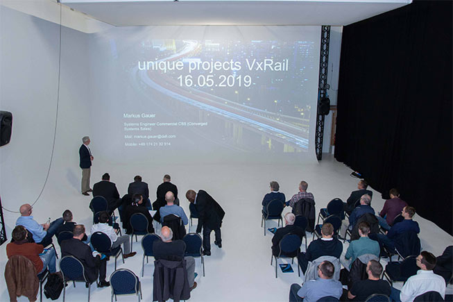 unique projects event vxrail it event networking