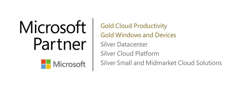 Microsoft Gold Partner Silber