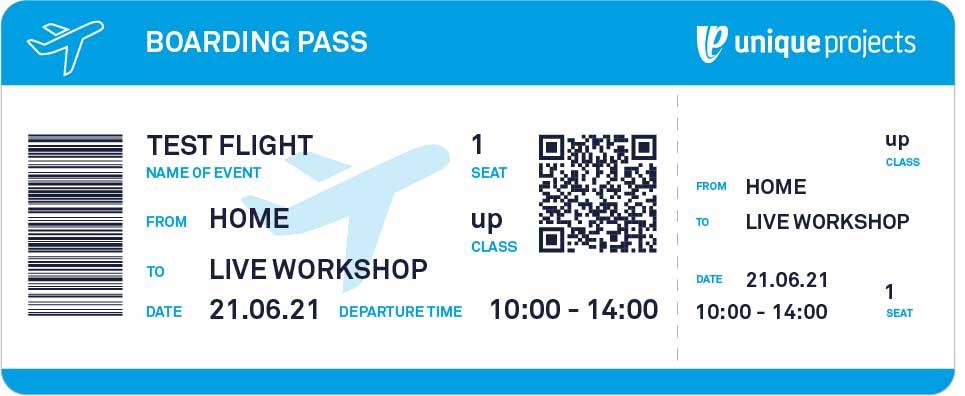boarding pass virtual test flight workshop unique projects 72dpi