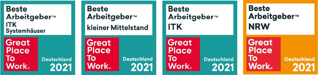 Bester Arbeitgeber NRW 2021