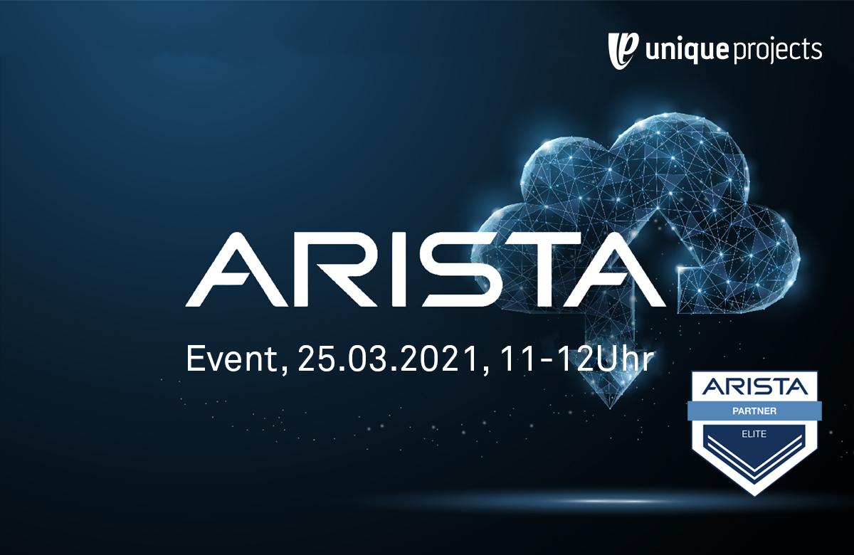 Arista Event 25.03.2021
